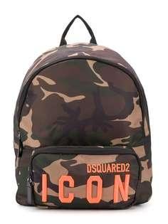 Dsquared2 Kids камуфляжный рюкзак с логотипом