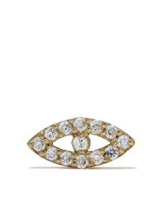 Feidt Paris серьга Bo Oeil из желтого золота с бриллиантами
