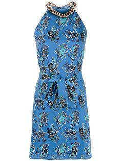 Pinko платье-трапеция с цветочным принтом