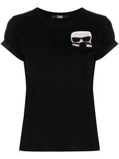 Karl Lagerfeld футболка K/Ikonik с карманом