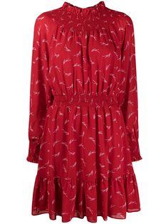 Michael Michael Kors платье мини с абстрактным принтом