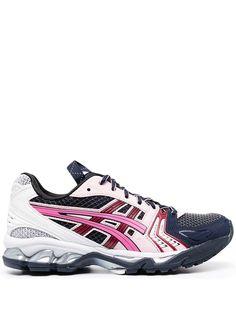 ASICS кроссовки на шнуровке со вставками