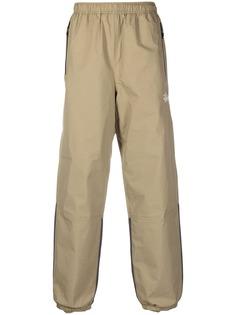 Stussy спортивные брюки с контрастными вставками