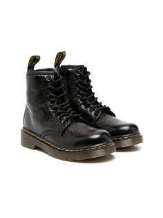 Dr. Martens Kids ботинки Fiori