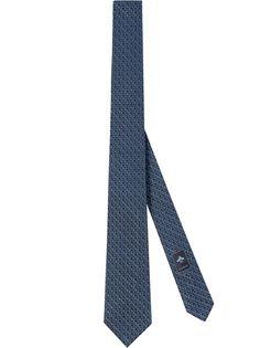 Gucci галстук с узором Double G