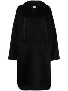 Totême пальто-анорак с капюшоном