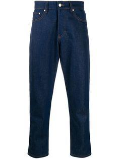 AMI Paris прямые джинсы