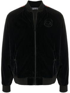 Billionaire Boys Club бархатная спортивная куртка с вышитым логотипом