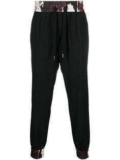 Dolce & Gabbana спортивные брюки с кулиской и камуфляжными вставками