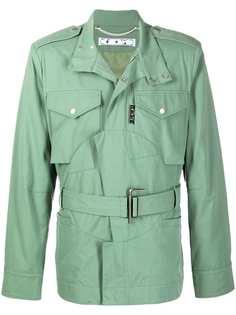 Off-White куртка в стиле милитари