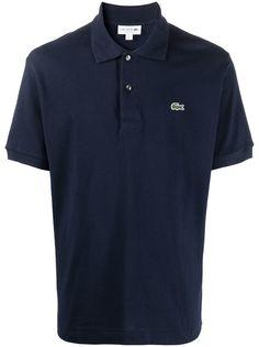Lacoste рубашка поло с нашивкой-логотипом