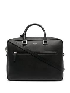 Saint Laurent сумка-мессенджер из зернистой кожи