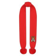 Хлопковый шарф Moschino