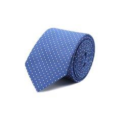 Шелковый галстук с узором Dal Lago