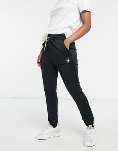 Черные спортивные штаны Puma x Charlotte Olympia-Черный цвет