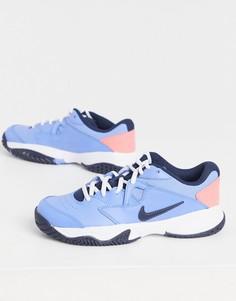 Голубые кроссовки Nike Court Lite 2-Голубой