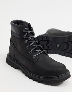 Черные непромокаемые ботинки Caterpillar Deplete-Черный цвет