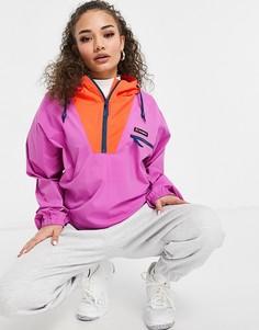 Розовая куртка-анорак Berghaus Wind Shirt-Фиолетовый