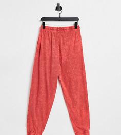 Красные выбеленные oversized-джоггеры от комплекта COLLUSION Unisex-Красный