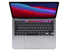 Ноутбук APPLE MacBook Pro 13 (2020) Space Grey MYD82RU/A (Apple M1/8192Mb/256Gb SSD/Wi-Fi/Bluetooth/Cam/13.3/2560x1600/Mac OS)