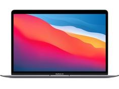Ноутбук APPLE MacBook Air 13 (2020) Space Grey MGN63RU/A (Apple M1/8192Mb/256Gb SSD/Wi-Fi/Bluetooth/Cam/13.3/2560x1600/Mac OS)