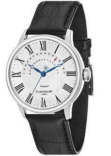 мужские часы Earnshaw ES-8077-01. Коллекция Cornwall Retrograde