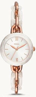 fashion наручные женские часы Fossil BQ3622. Коллекция Embry