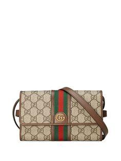 Gucci мини-сумка через плечо Ophidia