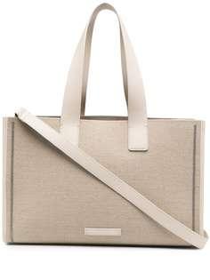 Brunello Cucinelli сумка-тоут с декором Monili