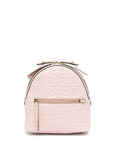 Fendi мини-рюкзак с логотипом FF