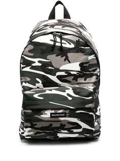 Balenciaga рюкзак Explorer с камуфляжным принтом