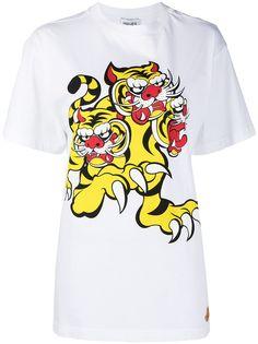 Kenzo футболка Three Tigers из коллаборации с Kansai Yamamoto