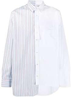 LANVIN рубашка со вставками