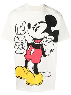 Levis футболка с принтом из коллаборации с Disney