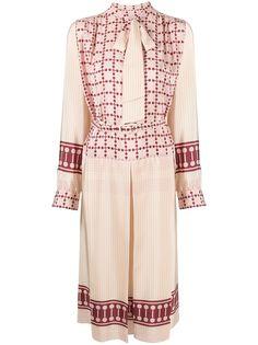 Ports 1961 платье миди со складками