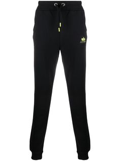 Alpha Industries спортивные брюки с логотипом
