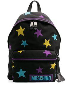 Moschino рюкзак с нашивками