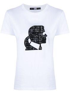 Karl Lagerfeld футболка Boucle Karl