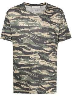 Zadig&Voltaire футболка Tommy с камуфляжным принтом