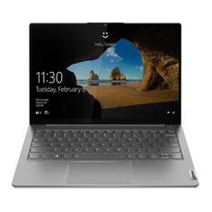 "Ноутбук LENOVO Thinkbook 13s G2 ITL, 13.3"", IPS, Intel Core i7 1165G7 2.8ГГц, 16ГБ, 512ГБ SSD, Intel Iris Xe graphics , Windows 10 Professional, 20V90039RU, серый"