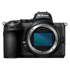 """Цифровые фотоаппараты Фотоаппарат Nikon Z 5 черный 24.3Mpix 3.2"""" 4K WiFi FTZ adapter EN-EL15c"""