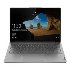 "Ноутбуки Ноутбук LENOVO Thinkbook 13s G2 ITL, 13.3"", IPS, Intel Core i5 1135G7 2.4ГГц, 8ГБ, 256ГБ SSD, Intel Iris Xe graphics , Windows 10 Professional, 20V9003DRU, серый"