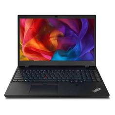 "Ноутбуки Ноутбук LENOVO ThinkPad T15p G1 T, 15.6"", IPS, Intel Core i5 10300H 2.5ГГц, 8ГБ, 512ГБ SSD, Intel UHD Graphics , Windows 10 Professional, 20TN001YRT, черный"