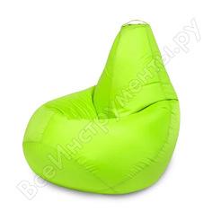 Кресло-мешок mypuff груша, салатовый неон, размер стандарт, оксфорд b_019