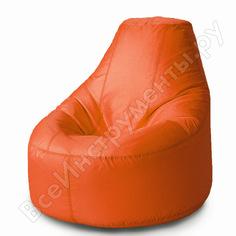 Кресло-мешок mypuff люкс оранжевый, оксфорд bn_021