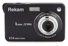 Цифровой фотоаппарат Rekam iLook S990i (черный)