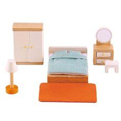 Мебель для домика Hape Спальня (E3450_HP)