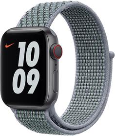 Ремешок Apple Nike Sport Loop для Apple Watch 40мм (обсидиановый туман)