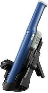 Ручной пылесос Kitfort КТ-578 (черный, синий)