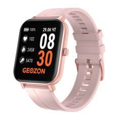 Умные часы GEOZON Runner (розовый)